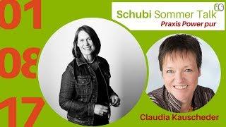 Schubi Sommer Talk mit Claudia Kauscheder von Abenteuer HomeOffice