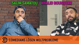 Comedians lösen Weltprobleme - mit Salim & Khalid |Social-Media-Sucht |Comedy Central Deutschland