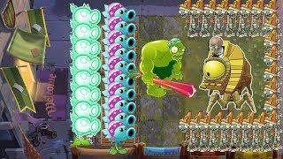 Plants vs Zombies 2 Battlez - Electric Peashooter, Zoybean Pod vs Zombot