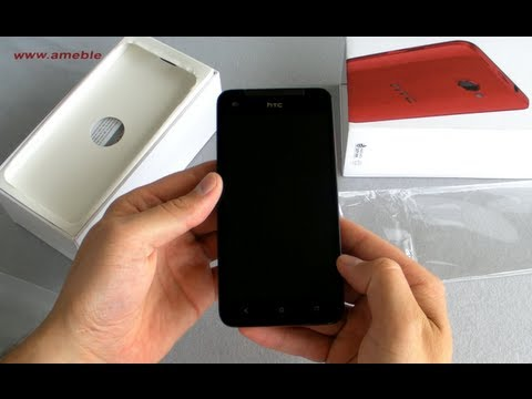 HTC Butterfly Unboxing And Design