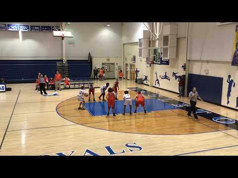 Alcoa Middle School Boys Varsity vs Lafollette 3 Nov 2018