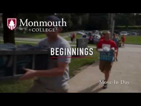 Beginnings -- New student move in day at Monmouth College 2015