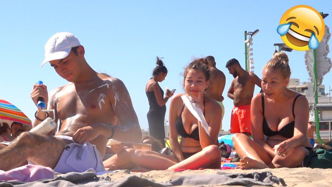 Les PIRES pranks à la plage ! - Prank - Nam's