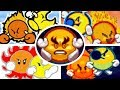 All Mr. Shine and Mr. Bright Battles & Appearances in Kirby Games (1993-2016)