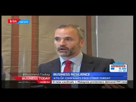 Business Today 22nd November 2016 - 47% of Kenyan companies aren't prepared to for cyber attacks