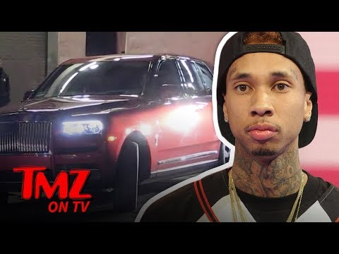 DJ Slab 1 - Tyga Says Screw the Repo Man, Buys New Rolls-Royce and Shops for Lambo