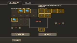 How to craft killstreak kit weapon Team Fortress 2