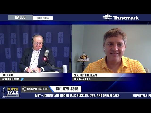 Joey Fillingane - Update on Mississippi