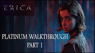 ERICA - Platinum Walkthrough Part 1/4 (No Commentary)