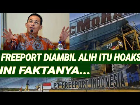 "TERNYATA B0H0NG;INDONESIA KUASAI 51% SAHAM FREEPORT;""KETUA KOMISI VII DPR;TERNYATA BELUM DIBAYAR;IN"
