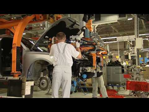 Audi Q5 Production Line Ingolstadt Germany
