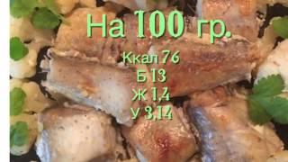 Рецепт запеченной рыбы. Низкокалорийный минтай в йогурте