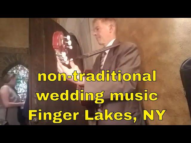 Non-traditional wedding music | Finger Lakes NY
