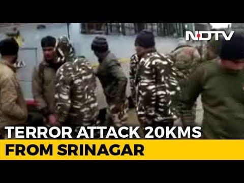 20 CRPF Men Killed In Blast In Kashmir's Pulwama, Worst Attack Since Uri