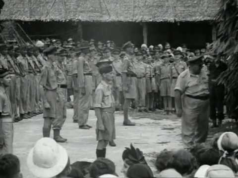 1945 Kuching POW Camp 6 Weeks after Japanese Surrender
