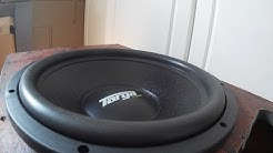 """2000W RMS Car sound in a House? Car amp and 15"""" sub setup and demo using a Dell server PSU!"""