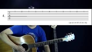 Bài 8: Bài tập luyện ngón -học guitar căn bản cho người mới bắt đầu