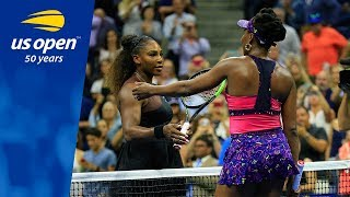 Serena Williams Tops Sister Venus in Arthur Ashe Stadium