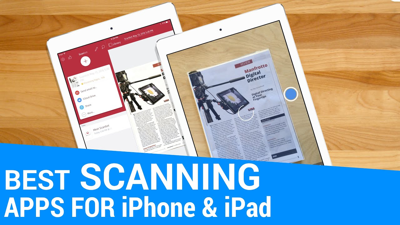 best pdf scanner app for ipad