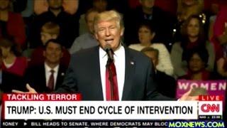 Der neue US-Präsident Trump verkündet neue Außenpolitik - keine Interventionen & Regimewechsel mehr