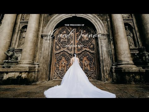 Al And Joanna SAN AGUSTIN CHURCH Wedding |  Same Day Edit By Nice Print Photography