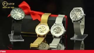 Quay quảng cáo sản phẩm đồng hồ cơ, quay cận cảnh kèm thuyết minh