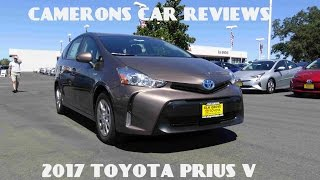 2017 Toyota Prius V 1.8 L 4-Cylinder Review | Camerons Car Reviews
