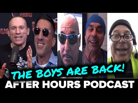 HILARIOUS BARBARIAN BROTHERS STORIES! After Hours Podcast (1/15/20)