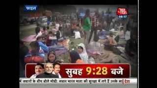 PM Modi spends Diwali with flood-hit J&K