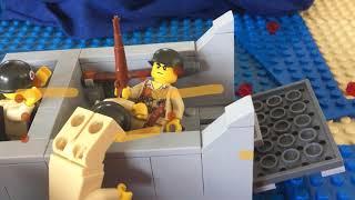 Lego WW2 D Day Omaha beach