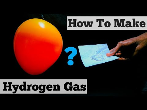 How To Make Hydrogen Gas Balloon At Home || Easy Science Experiments To Do At Home