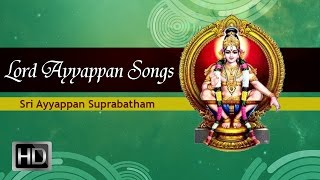 Lord Ayyappan Songs - Sri Ayyappan Suprabatham - Tamil Devotional Songs - K. Veeramani