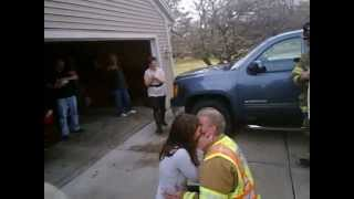 Repeat youtube video FireFighter Marriage Proposal to Nicole with Dousman Fire District