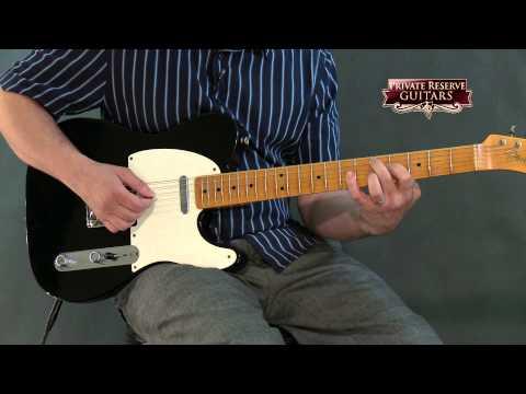 Fender Custom Shop 60th Anniversary Series Esquire 2-Pickup Electric Guitar Black