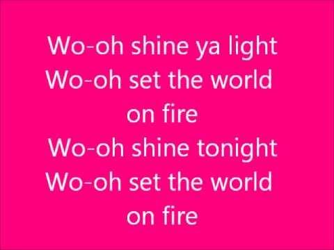 Rita Ora - Shine Ya Light (Lyrics On Screen)