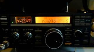 Video Ham Radio Icom IC-725 V Yaesu FT-857D One Round Receiving Knock Out Contest download MP3, 3GP, MP4, WEBM, AVI, FLV September 2018