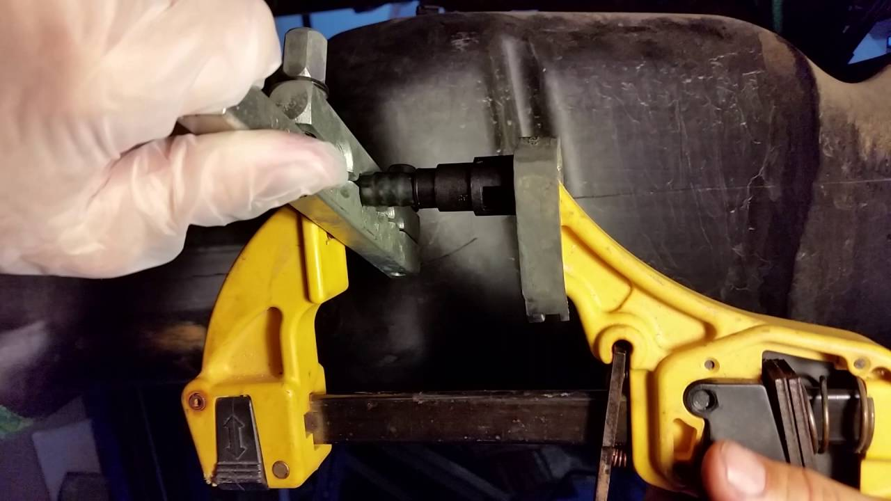 Diy Nylon Fuel Line Push Quick Connect Youtube