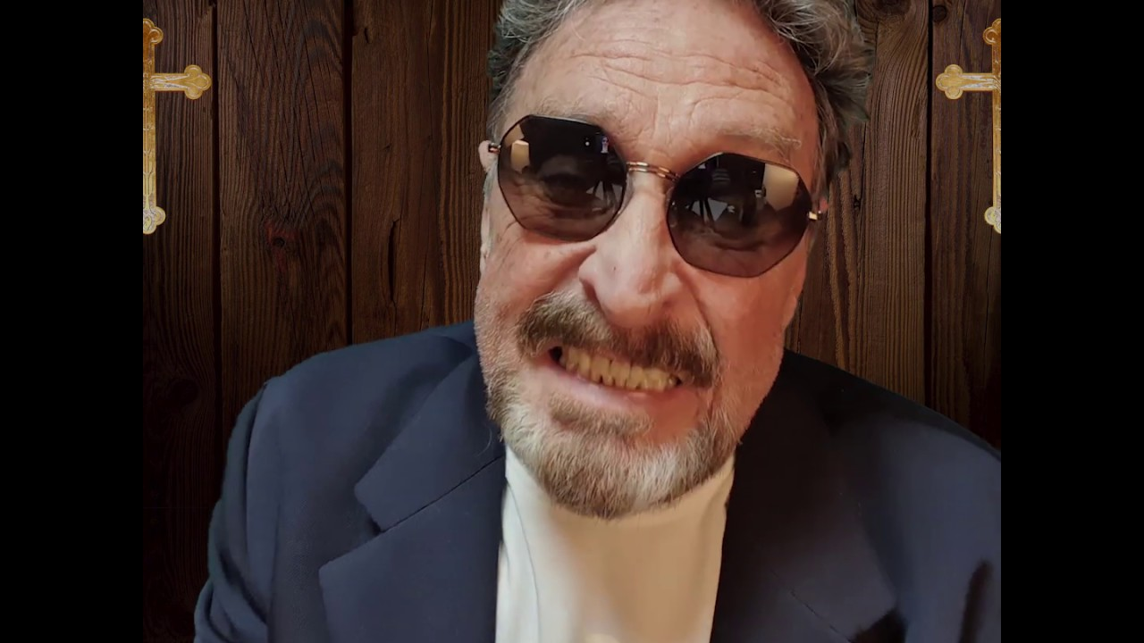 Watch 2020 Presidential Candidate John McAfee Confess to Cannibalism