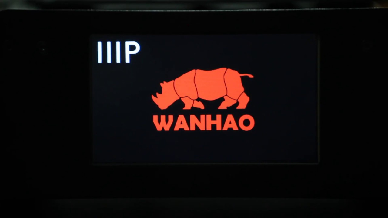 Monoprice Maker Select Plus running Wanhao Duplicator i3 Plus firmware w/  custom icons