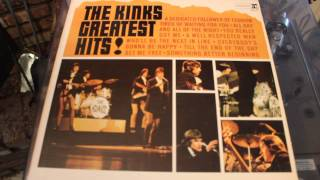 THE KINKS - YOU REALY GOT ME - GREATEST HITS LP RECORD