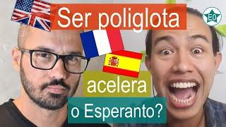 Ser poliglota acelera o Esperanto? Conversa Rodrigo Sena | Esperanto do ZERO!