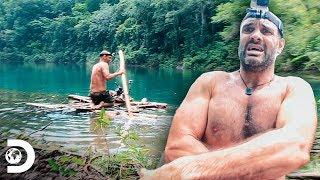 Hizo un catamarán con sus manos en plena jungla | Ed Stafford al extremo | Discovery Latinoamérica