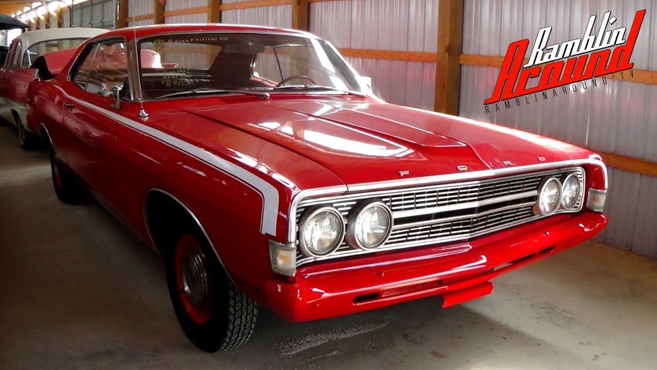 1968 ford fairlane 500 low original miles 289 v8
