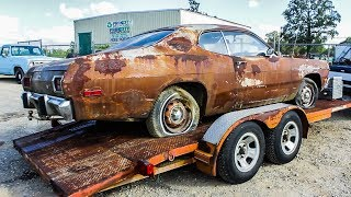 Gambar cover JUNKYARD PLYMOUTH GETS A NEW HOME!