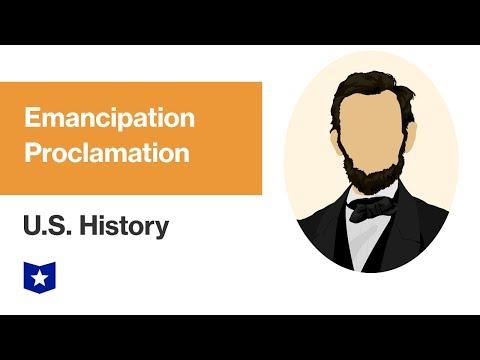 U.S. History | Emancipation Proclamation