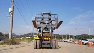 현대7톤 HDF70D 자동발 캐빈디젤지게차