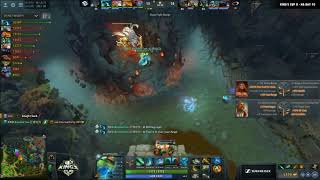 Dota 2 Twitch Clip : Envy wins a team fight with Echo Slam