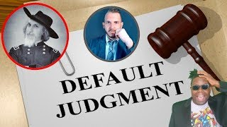 Gambar cover Non Sequitur Show | Default Judgement | Is it Over? | Lawyer Explains
