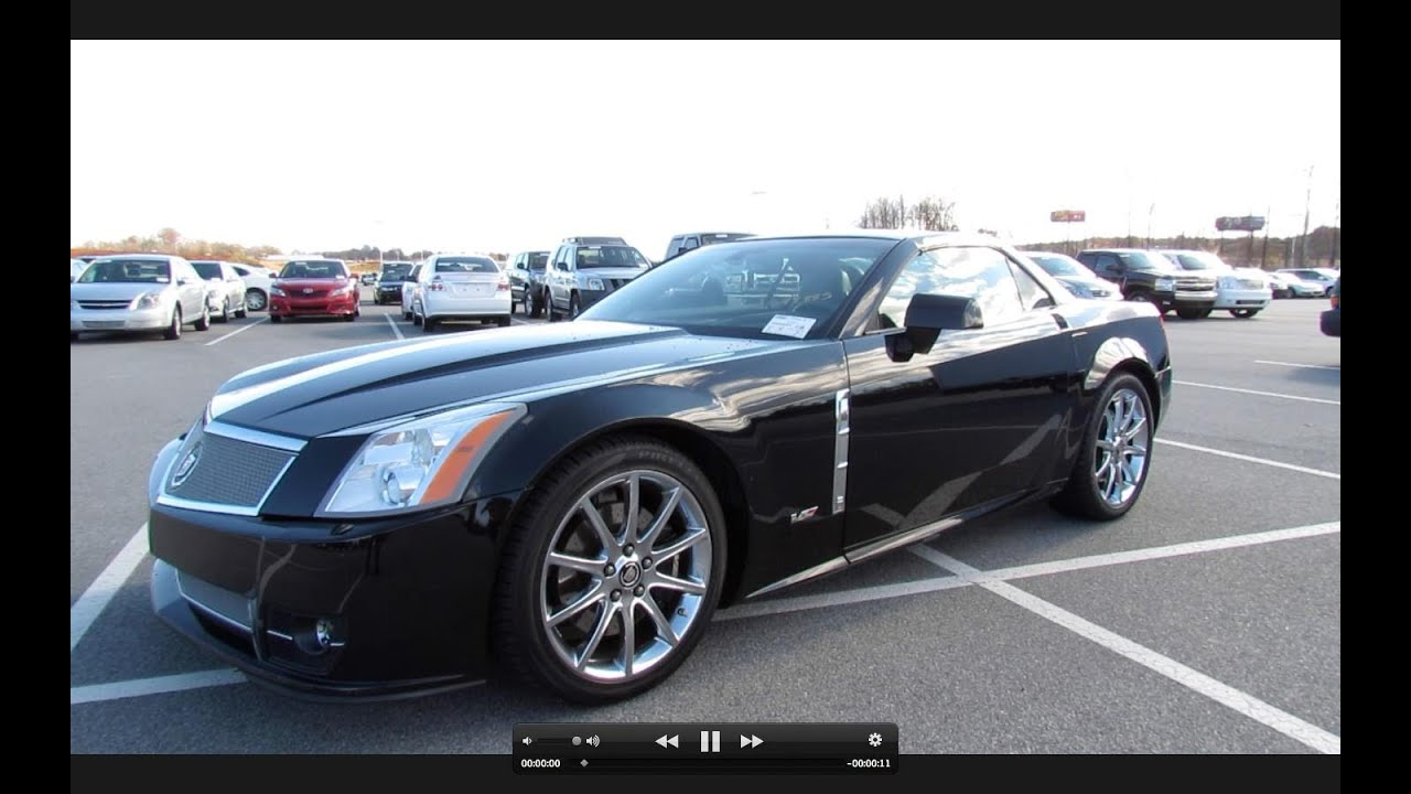 2009 Cadillac XLR V Supercharged Start Up, Exhaust, Short Drive, And In  Depth Tour   YouTube