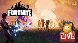 Fortnite - Gaspiller des ressources en direct! Solo Storm Shield Défense 10 Tentatives!